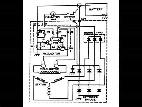 rod wiring diagram for alternator get free image