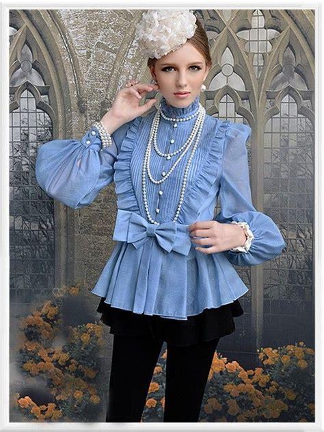 morpheus boutique blue high collar shoulder princess