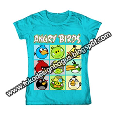 T Shirt Kaos Distro Bird t shirt kaos angry birds desain kaos desain t shirt