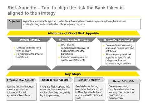 risk appetite template advances in risk management beyond basel ii ppt