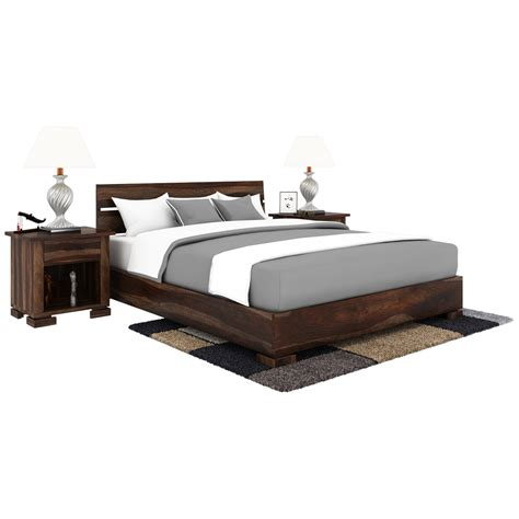 Handcrafted Bed - athena handcrafted solid wood platform bed
