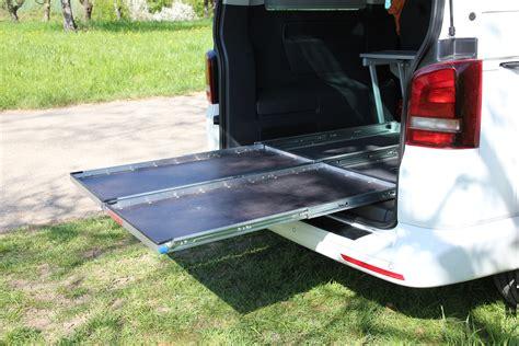 Schublade Bodenmontage by Selbstbauanregung Heckauszug F 252 R Vw T5 T6 California Multivan
