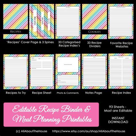 printable recipe index card dividers how to organize recipes plus a free printable recipe binder