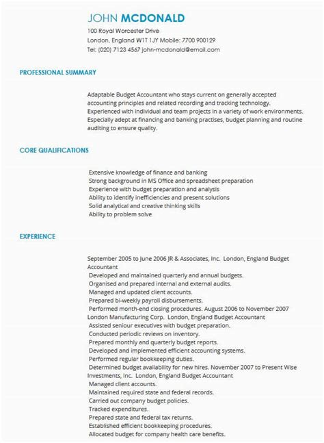 Cv Sles Cv Templates By Industry Livecareer Employment Cv Template