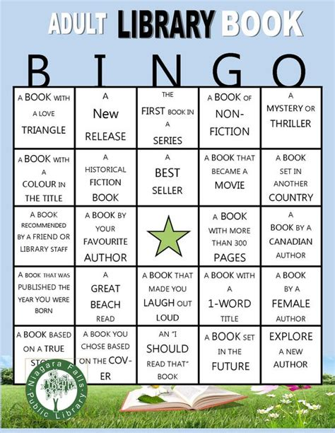 reading themes for adults reading games bingo cards and bingo on pinterest