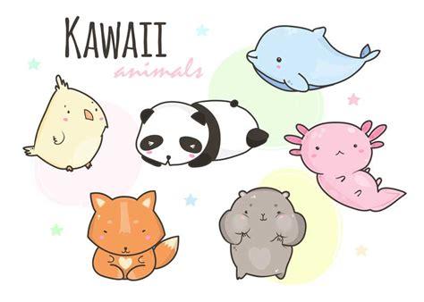 imagenes de animalitos kawaii animales kawaii dibujos kawaii de animales para colorear
