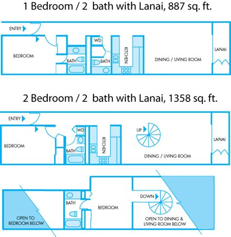 Kitchen Dining Room Layout Kamaole Sands Resort See All Features And Amenities