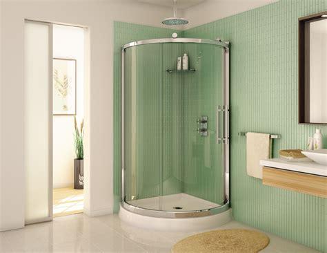 36 glass shower door fleurco 36 quot x 36 quot sorrento arc 1 4 quot glass semi frameless