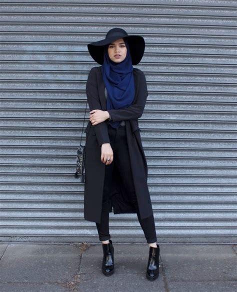 Setelan Dolly Hoodie Warna Dusty Pink Hijau 50 inspirasi ootd hijabers dunia
