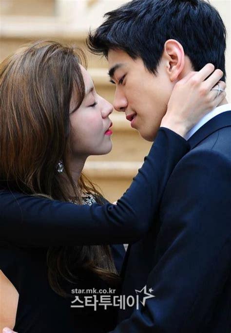 film drama korea uee sung joon and uee pucker up for high society s poster