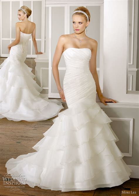 Mori Lee Wedding Gowns 2011 Bridal Collection   Wedding