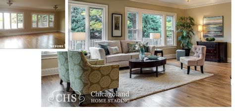 staging images vacant homes before and after pictures chicagoland