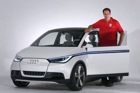 Audi A2 Neu by Audi A2 Auf Der Iaa Sitzprobe Autobild De