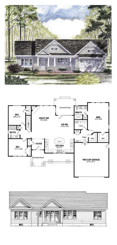 concept house plans simple house plans bedroom ranch floor open concept cape