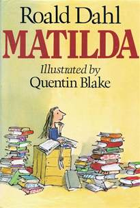 roald dahl book review template library of rescued books matilda by roald dahl