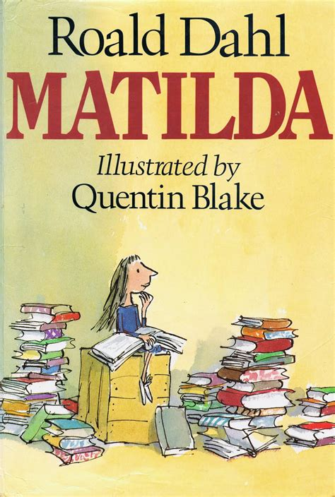 pictures of matilda the book library of rescued books matilda by roald dahl
