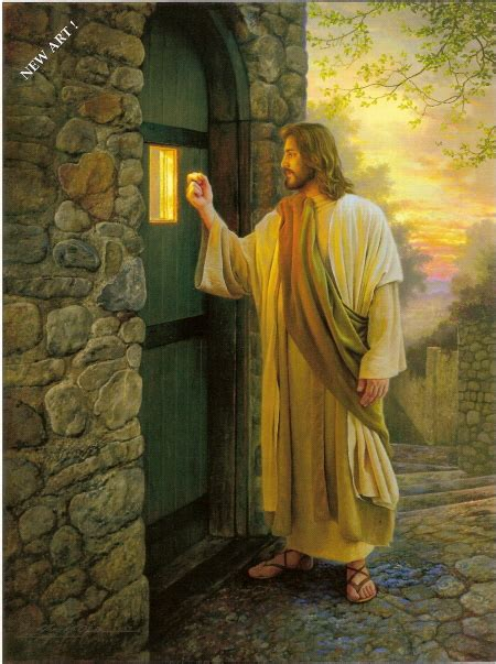 Jesus Knocking At The Door Images by Preaching