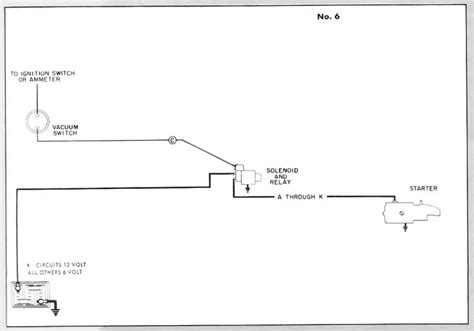 starting circuit diagram for the 1948 50 packard custom 8