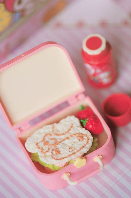 Jual Rement Miniatur Sandwich My Melody わくわくピクニックサンド bento box and box