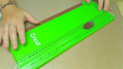 Provo Craft Paper Cutter - cricut trimmer review
