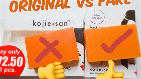original kojie san soap vs kojie san soap