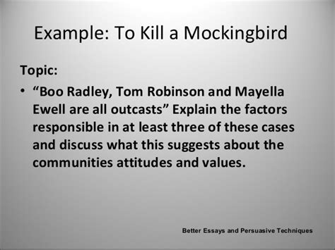 to kill a mockingbird essay themes and issues tom robinson and boo radley essay deaththesis x fc2 com
