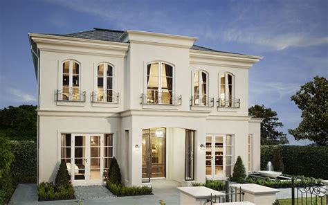 french style house french styles homes lover discover the bordeaux by metricon