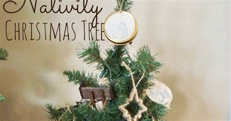 nativity christmas tree adventures of a diy mom