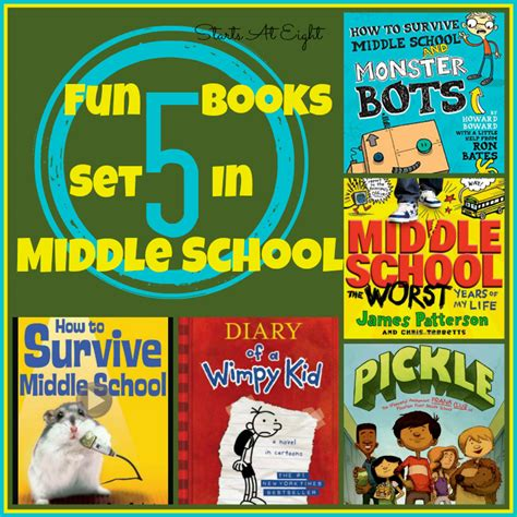 middle school picture books 5 books set in middle school startsateight