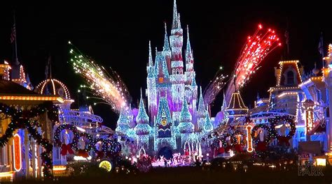 when does christmas decorations go up at disney world 2017
