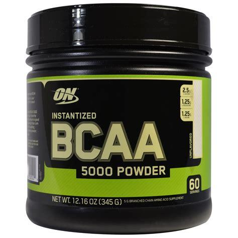 Suplemen Bcaa Powder optimum nutrition bcaa 5000 powder instantized