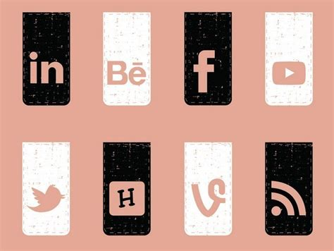 how to make a retro icon style using the appearance panel free 20 retro style social media icons vector titanui