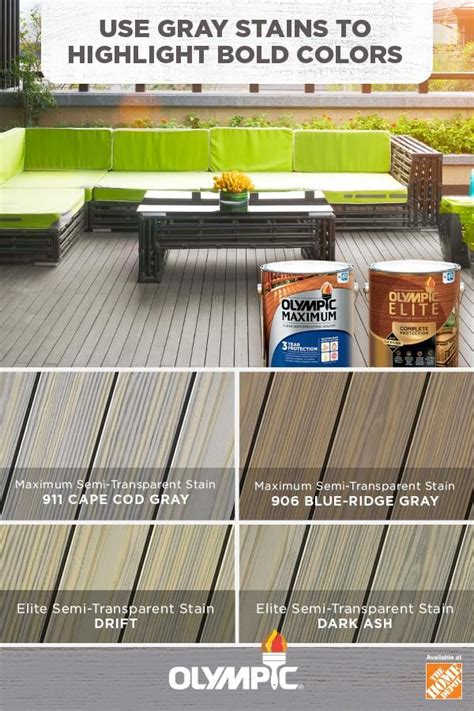 grey stain colors   deck wood stain