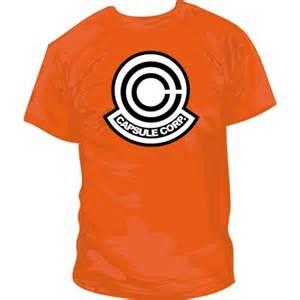 Kaos Capsule Corp capsule corp camisetasfrikis es
