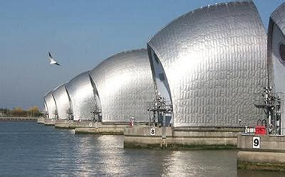 thames barrier case study 25 sea levels could rise by more than three metres