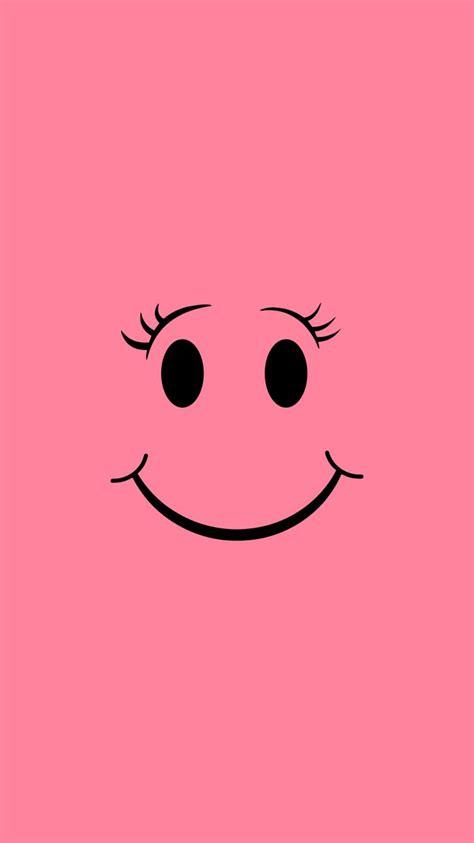 pink smile iphone  wallpaper