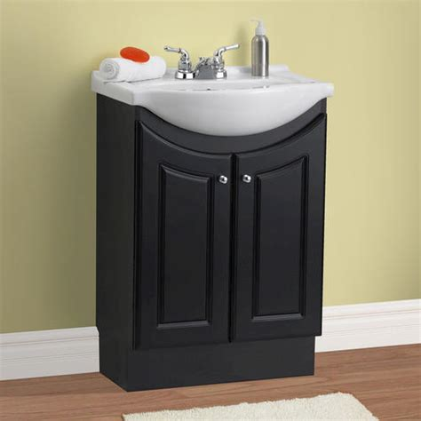 bathroom vanities at menards magick woods 24 quot eurostone collection vanity ensemble at