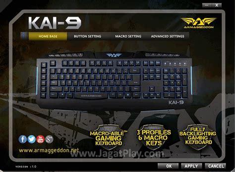 Keyboard Power Logic Armageddon Ak990 I review armaggeddon 9 sentinel keyboard gaming yang terjangkau jagat play