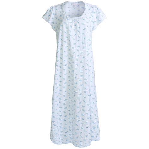 cotton knit nightgown nwt 55 carole hochman printed nightgown cotton knit