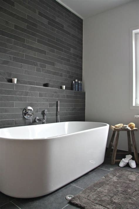 fliesengestaltung bad badezimmer gestalten akzentwand mit fliesen bathroom