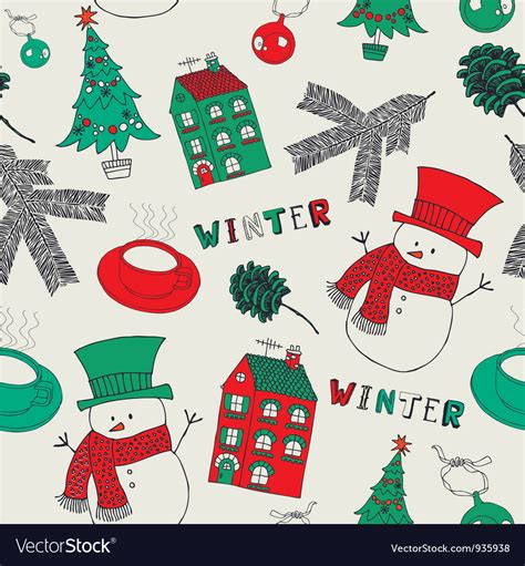 retro christmas pattern vector free retro winter christmas pattern vector art download retro