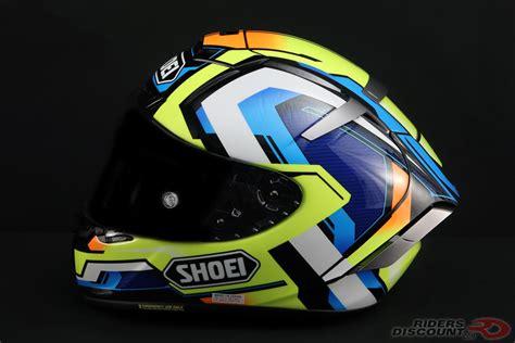 Shoei X14 Brink Tc 10 Yellow Blue shoei x fourteen brink helmets 600rr net
