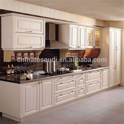 solid cherry maple beech wood kitchen cabinets design