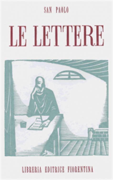 libreria san paolo firenze le lettere di s paolo