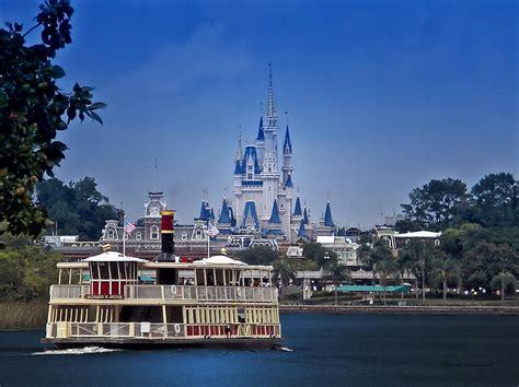 disney magic boat ferry boat magic kingdom walt disney world photograph by