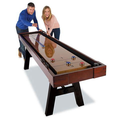 barrington 9 solid wood shuffleboard table barrington 9 allendale shuffleboard table gosale price