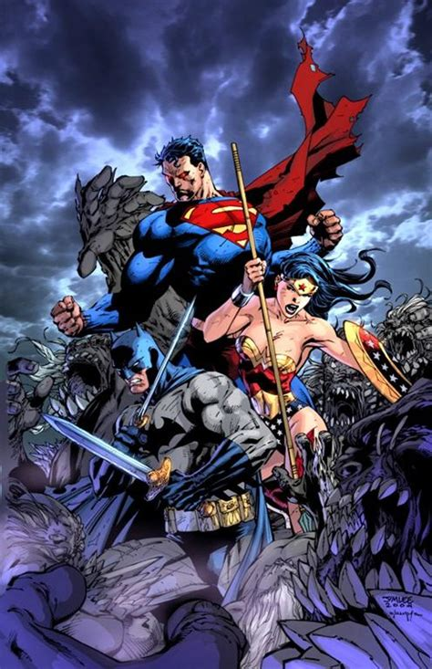 Kaos Justice League Dc 3 Batman Superman Wonderwoman entrevista a jim zona negativa