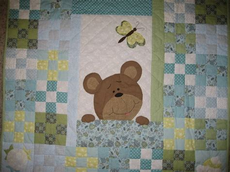 25 best ideas about teddy quilt pattern on