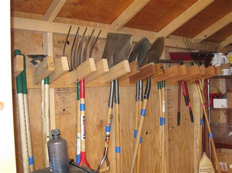 gorgeous  shed wooden shelving ideas   storage