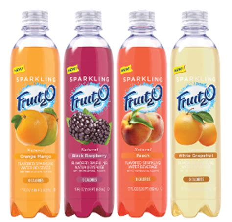 fruit2o sparkling fruit2o 2014 09 11 beverage industry